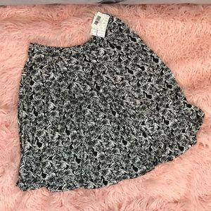 LuLaRoe NWT Black & White Madison Skirt